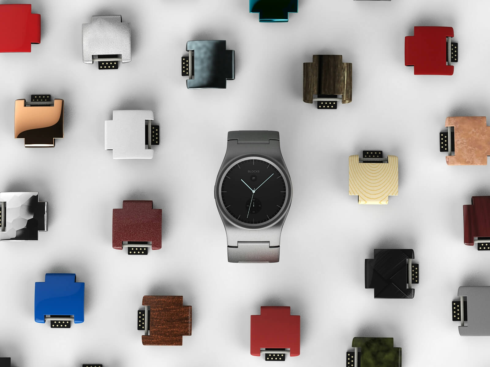 blocks modular smartwatch marketing