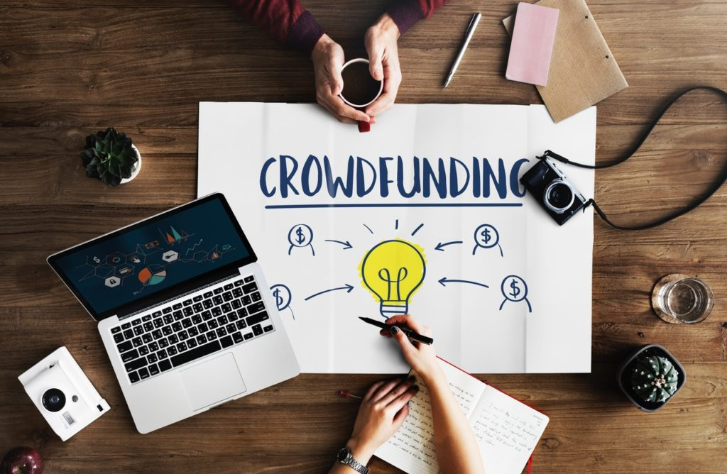 crowdfunding Facebook ads
