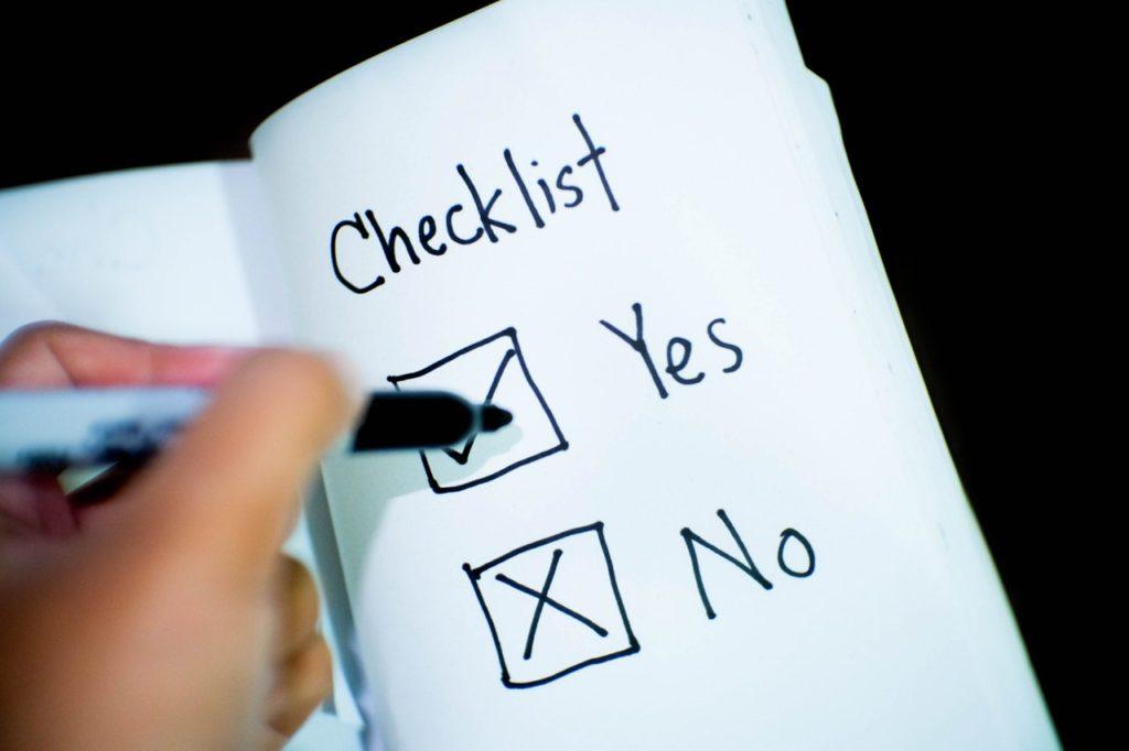 Build a Checklist