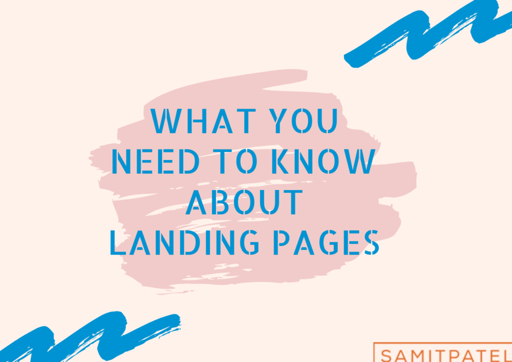 what you need to know about landing pages