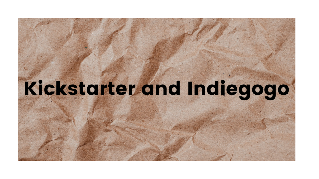 How are Kickstarter and Indiegogo Different?